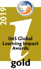 IMS Learning Impact Awards 2019 Gold Medalist