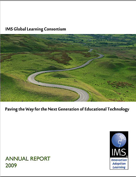 IMS annual report 2009 cover