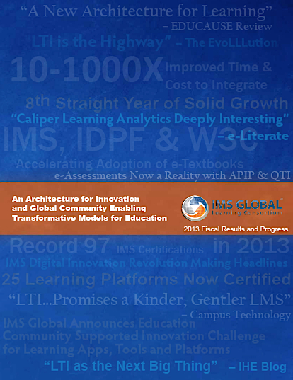 IMS annual report 2013 cover